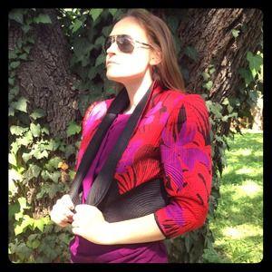 Sunny & Grace Jackets & Blazers - 100% Thai Silk Jacket