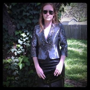 Newport News Jackets & Blazers - Newport News Shimmer Blazer