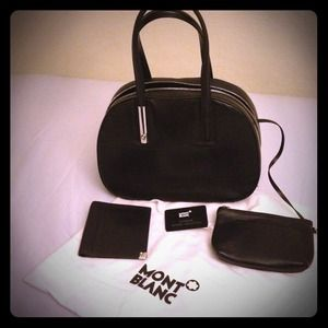 Authentic Montblanc Blanc Handbag