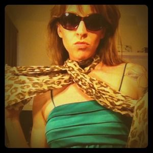 Accessories - Leopard print scarf