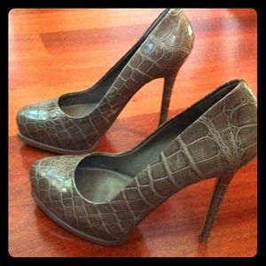 "ALDO Shoes - RESERVED @tt35 - 5"" Alligator print heels"