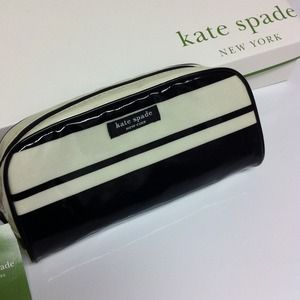 kate spade Clutches & Wallets - Brand New✨KS B&W Cosmetic Bag