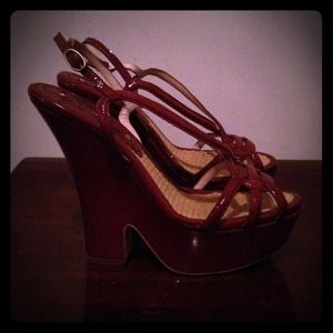 Shoes - Celine strappy wedge