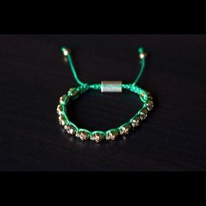 Accessories - Skull bracelet in GREEN