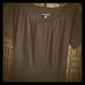 Banana Republic Tops - 💢SOLD💢 Banana Republic Black Pleated Top