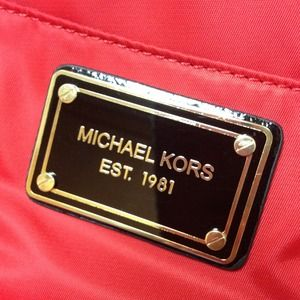 Michael Kors Handbags - Brand new  Michael Kors red tote bag.