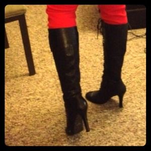 Leather boots ..negotiable !!!