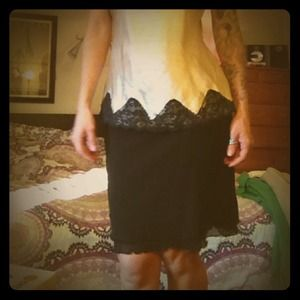 Tarea by Rue21 Dresses & Skirts - Sheer black layered skirt.