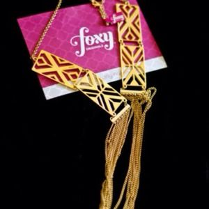 foxy originals  Accessories - Tribal necklace + double rings (bundle)