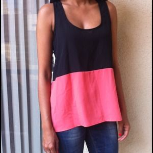 Tops - Color block top ( reserved for @karashawn)