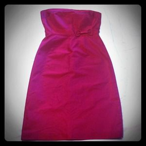 Reduced! J. Crew strapless silk dress