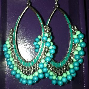 Jewelry - Colorful dangle earrings