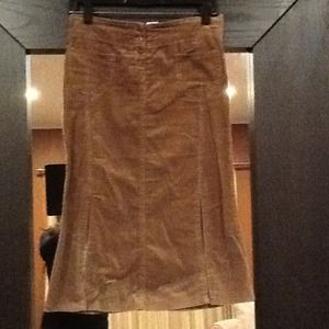 oboe Dresses & Skirts - Brown faux suede skirt