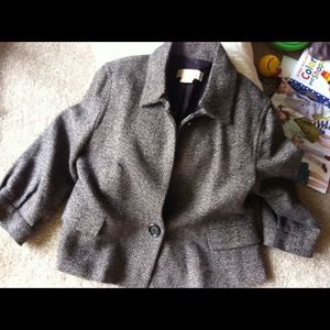 Michael Kors Jackets & Blazers - REDUCED! Michael Kors Tweed Jacket