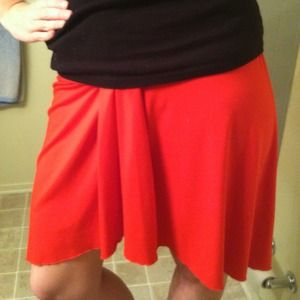 Lani Dresses & Skirts - Red orange skirt