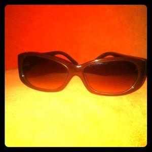 Authentic Fendi sunglasses - brown