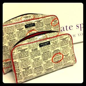 kate spade Handbags - Brand New w/ Tag✨KS New York Times Cosmetic Bah