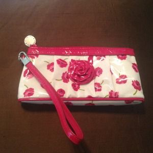 Vera Bradley Clutches & Wallets - Flower Wristlet