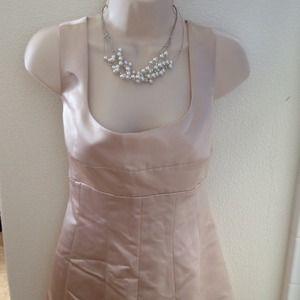 BCBGMaxAzria Dresses & Skirts - Bcbgmaxazria champagne gown