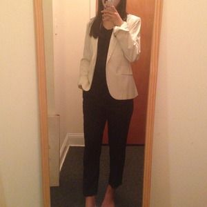 Calvin Klein Jackets & Blazers - Calvin Klein • Slim Fit Blazer in Cream