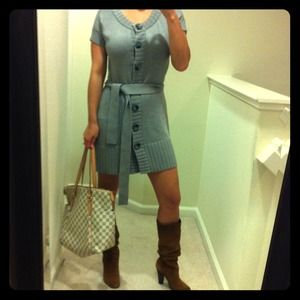 INC Dresses & Skirts - RESERVED @msdecember77 - Button down sweater dress