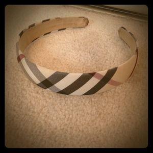 🎈Reduced!!!!🎈Burberry print headband
