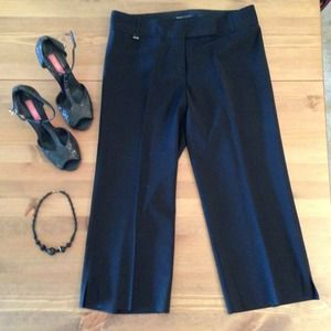 BCBGMaxAzria Pants - ⓡⓔⓓⓤⓒⓔⓓ BCBG Black Cropped Pants