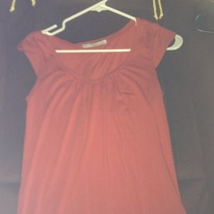 Tops - **Reduced** Red short sleeve shirt