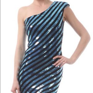 REDUCED Price!!! Digital Striped Mini Dress
