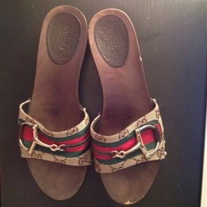Gucci Shoes - Gucci icon clog with horsebit detail