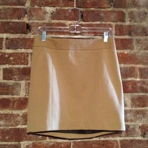 Express Dresses & Skirts - REDUCED: Tan Miniskirt