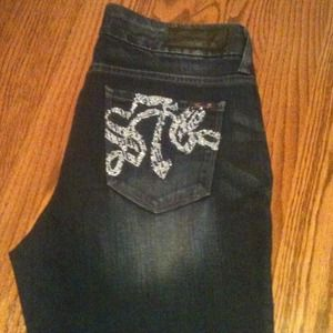 SPARKLY Seven 7 Jeans