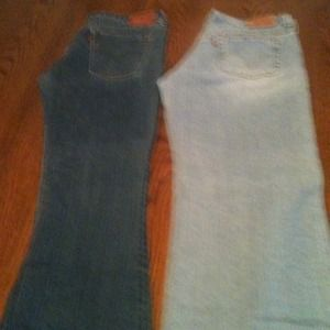 Pair of old Levi Jeans'