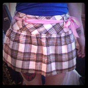 Dresses & Skirts - Yellow Plaid Skirt