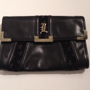 L.A.M.B. Handbags - RESERVED: L.A.M.B. Evening Clutch & H&M dress
