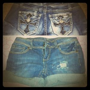 Mudd Denim - RESERVED @carlibugg 2 denim shorts bundle