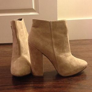 ASOS Shoes - BRAND NEW, NEVER WORN ASOS suede booties!