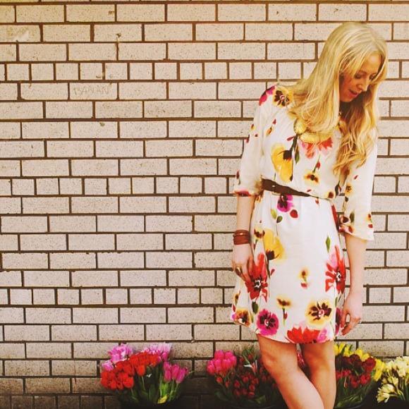 Super Sweet Floral Spring Dress