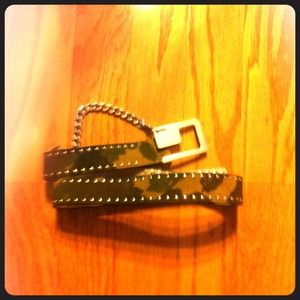 Womens Guess belt medium
