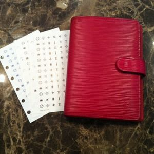 Louis Vuitton Accessories - Louis Vuttion Epi Leather Agenda