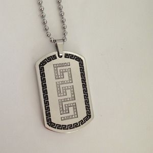 Accessories - Men's dog tag necklace