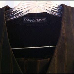 Dolce & Gabbana Jackets & Coats - HOLD2 piece Dolce & Gabbana Vest&Trousers