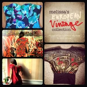 Vintage Dresses & Skirts - @abroadvintage - Rad European Vintage Collection!