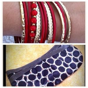 Clutches & Wallets - Reserved clutch and bracelet bundle