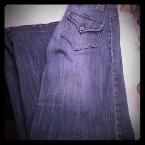 Denim - Reduced Wide leg jeans
