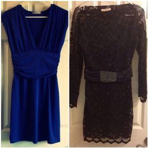 *RESERVED for @Sheelagoh*  blue & lace dresses