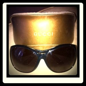 Gucci Accessories - Reduced***BIG Authentic Gucci Glasses!