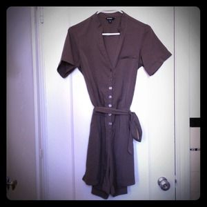 Other - charcoal romper