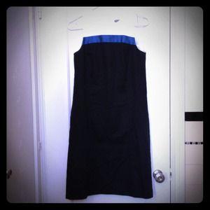 Color-block shift dress