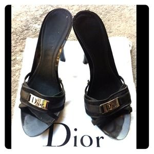 Dior Shoes - Authentic Black Dior Heels